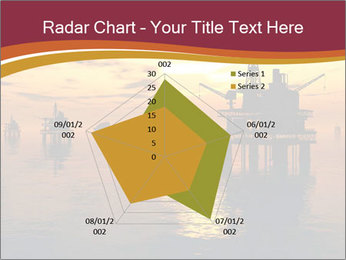 Sea Oil Platform and Tanker PowerPoint Templates - Slide 51
