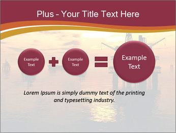 Sea Oil Platform and Tanker PowerPoint Templates - Slide 75