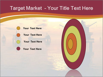Sea Oil Platform and Tanker PowerPoint Templates - Slide 84