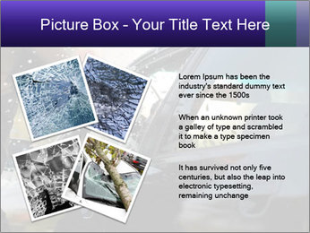 Man breaking a car's PowerPoint Templates - Slide 23