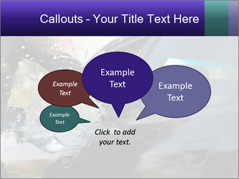 Man breaking a car's PowerPoint Templates - Slide 73