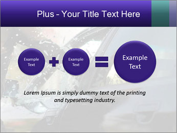 Man breaking a car's PowerPoint Templates - Slide 75
