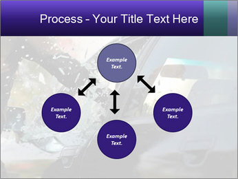 Man breaking a car's PowerPoint Templates - Slide 91
