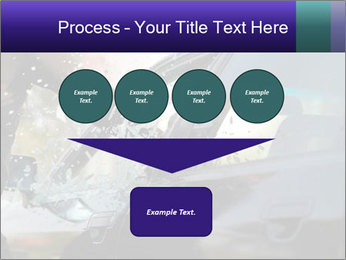Man breaking a car's PowerPoint Templates - Slide 93
