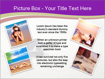 Sea turtle PowerPoint Template - Slide 24