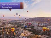 Hot air balloon PowerPoint Templates