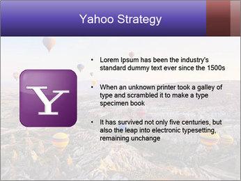 Hot air balloon PowerPoint Template - Slide 11