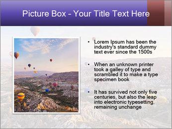 Hot air balloon PowerPoint Template - Slide 13