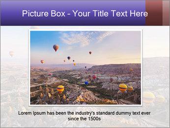 Hot air balloon PowerPoint Template - Slide 15