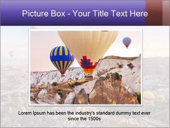 Hot air balloon PowerPoint Template - Slide 16