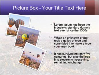 Hot air balloon PowerPoint Template - Slide 17