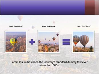 Hot air balloon PowerPoint Template - Slide 22