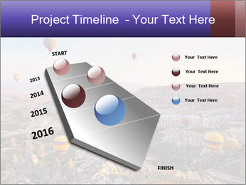 Hot air balloon PowerPoint Template - Slide 26