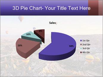 Hot air balloon PowerPoint Template - Slide 35