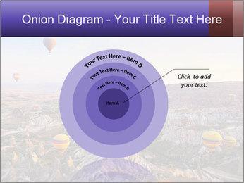 Hot air balloon PowerPoint Template - Slide 61