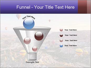Hot air balloon PowerPoint Template - Slide 63