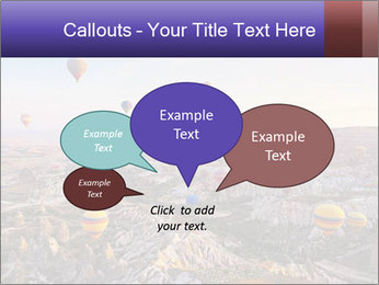 Hot air balloon PowerPoint Template - Slide 73