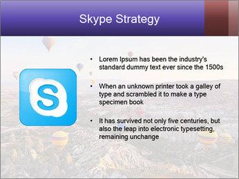 Hot air balloon PowerPoint Template - Slide 8