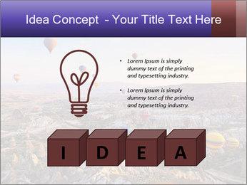 Hot air balloon PowerPoint Template - Slide 80