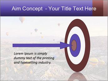 Hot air balloon PowerPoint Template - Slide 83