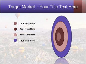 Hot air balloon PowerPoint Template - Slide 84