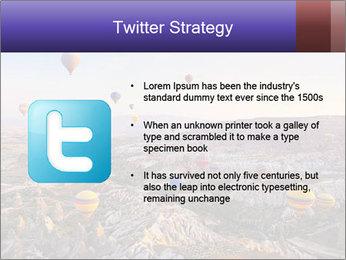 Hot air balloon PowerPoint Template - Slide 9