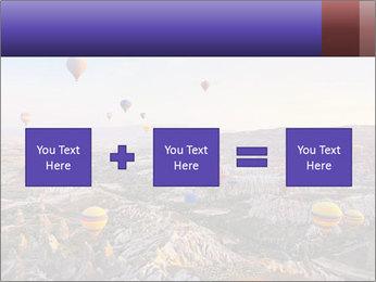 Hot air balloon PowerPoint Template - Slide 95