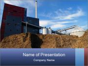Bio power plant PowerPoint Templates