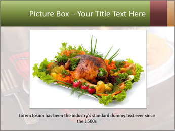Table Setting PowerPoint Template - Slide 15