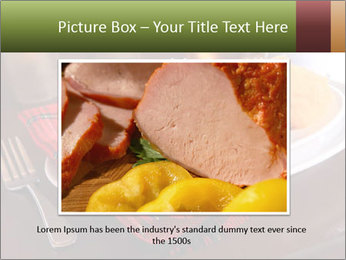 Table Setting PowerPoint Template - Slide 16