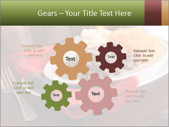Table Setting PowerPoint Template - Slide 47