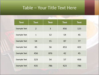 Table Setting PowerPoint Template - Slide 55