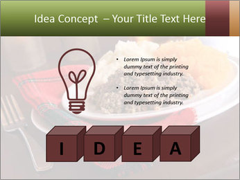 Table Setting PowerPoint Template - Slide 80