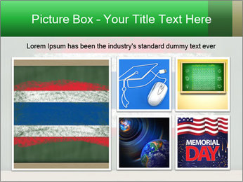 Chalky national flag PowerPoint Template - Slide 19