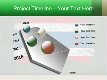 Chalky national flag PowerPoint Template - Slide 26