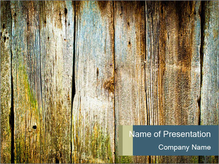 Wood planks PowerPoint Templates