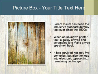 Wood planks PowerPoint Templates - Slide 13