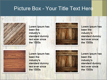 Wood planks PowerPoint Templates - Slide 14
