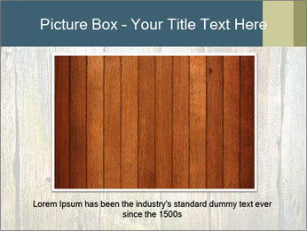 Wood planks PowerPoint Templates - Slide 15