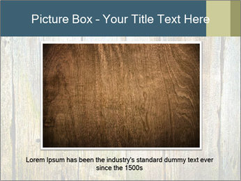 Wood planks PowerPoint Templates - Slide 16