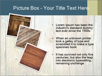 Wood planks PowerPoint Templates - Slide 17