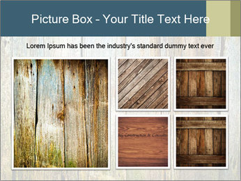 Wood planks PowerPoint Templates - Slide 19