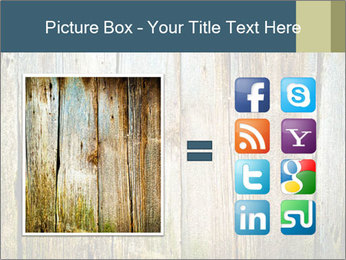 Wood planks PowerPoint Templates - Slide 21