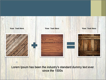 Wood planks PowerPoint Templates - Slide 22