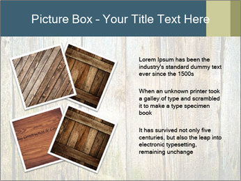 Wood planks PowerPoint Templates - Slide 23
