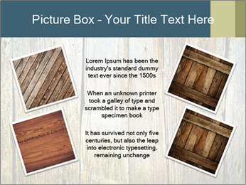 Wood planks PowerPoint Templates - Slide 24
