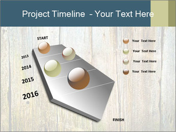 Wood planks PowerPoint Templates - Slide 26