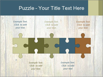 Wood planks PowerPoint Templates - Slide 41