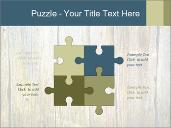 Wood planks PowerPoint Templates - Slide 43
