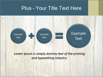 Wood planks PowerPoint Templates - Slide 75